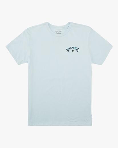 0 Boys' Archfill Short Sleeve T-Shirt Blue ABBZT00158 Billabong