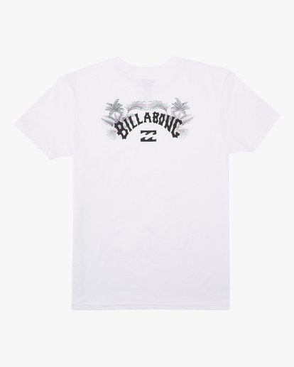 1 Boys' Archfill Short Sleeve T-Shirt White ABBZT00158 Billabong