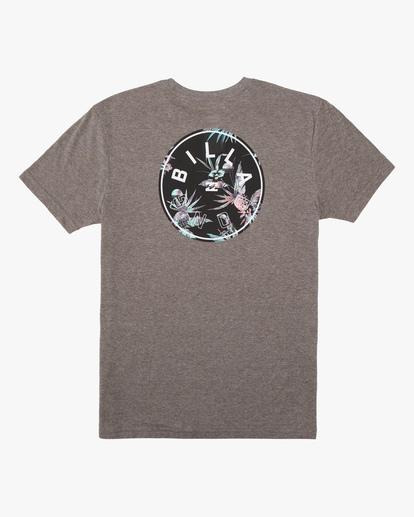 1 Boys' Rotor Short Sleeve T-Shirt Green ABBZT00159 Billabong