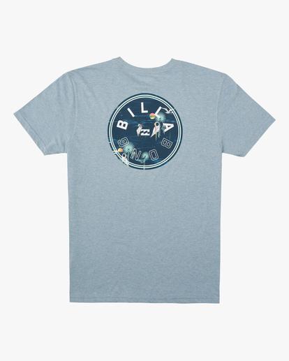 1 Boys' Rotor Short Sleeve T-Shirt Blue ABBZT00159 Billabong