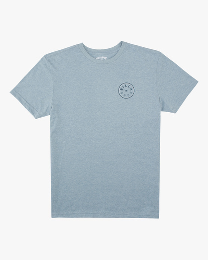0 Boys' Rotor Short Sleeve T-Shirt Blue ABBZT00159 Billabong
