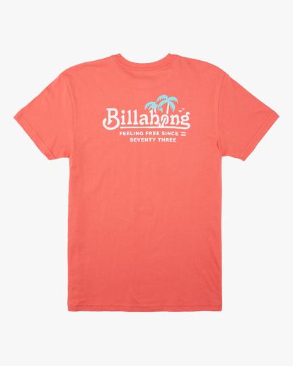1 Boys' Lounge Short Sleeve T-Shirt Orange ABBZT00162 Billabong