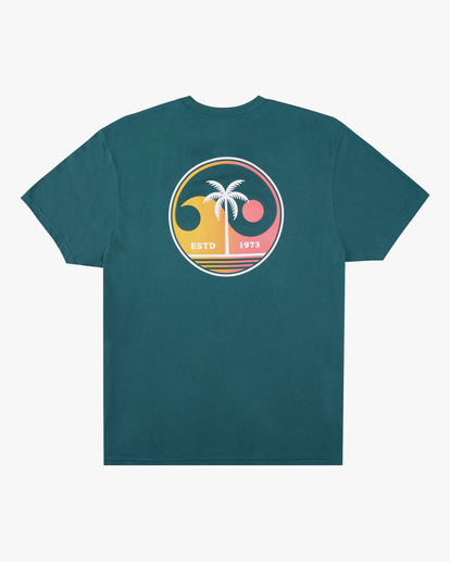 1 Boys' Yin And Wave Short Sleeve T-Shirt Orange ABBZT00163 Billabong