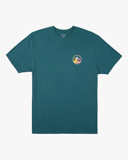 0 Boys' Yin And Wave Short Sleeve T-Shirt Orange ABBZT00163 Billabong