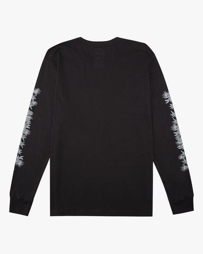1 Boys' Sleeves Long Sleeve T-Shirt Black ABBZT00167 Billabong