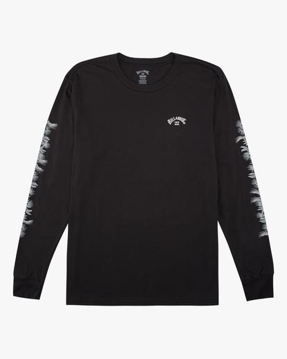 0 Boys' Sleeves Long Sleeve T-Shirt Black ABBZT00167 Billabong