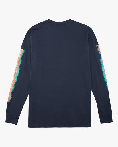 1 Boys' Sleeves Long Sleeve T-Shirt Blue ABBZT00167 Billabong