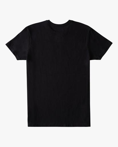 1 Boys' Arch Fill Short Sleeve T-Shirt Black ABBZT00175 Billabong