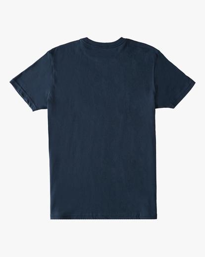 1 Boys' Arch Fill Short Sleeve T-Shirt Blue ABBZT00175 Billabong