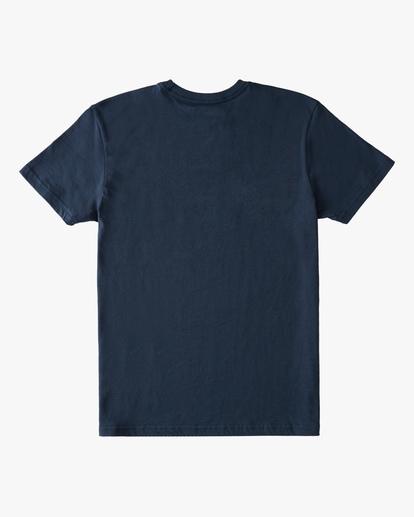 1 Boys' Entry Short Sleeve T-Shirt Blue ABBZT00177 Billabong