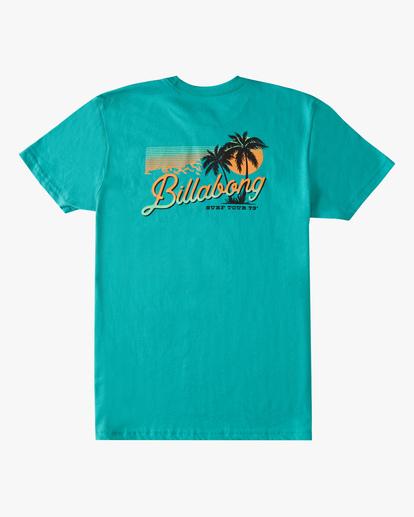 1 Boys' Surf Tour Short Sleeve T-Shirt Blue ABBZT00183 Billabong