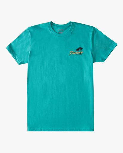 0 Boys' Surf Tour Short Sleeve T-Shirt Blue ABBZT00183 Billabong