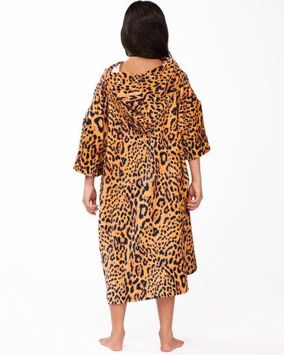 1 Girls' Teen Hooded Changing Towel Multicolor ABGAA00100 Billabong