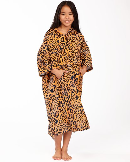 0 Girls' Teen Hooded Changing Towel Multicolor ABGAA00100 Billabong