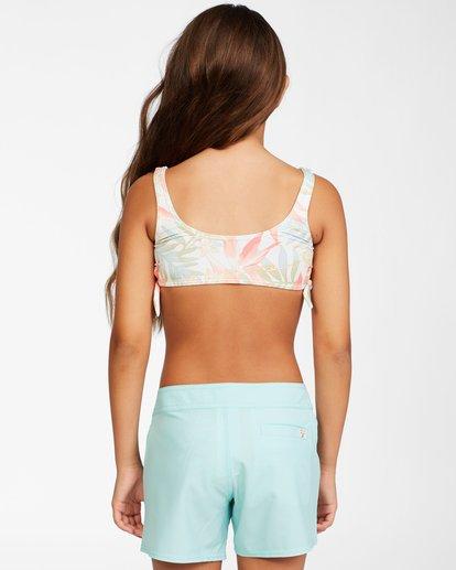 2 Girls' Lil Love Palms Boardshorts Blue ABGBS00105 Billabong
