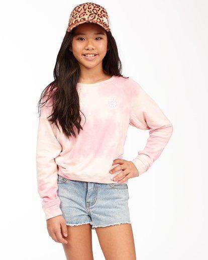 0 With My Crew Sweatshirt Pink ABGFT00104 Billabong