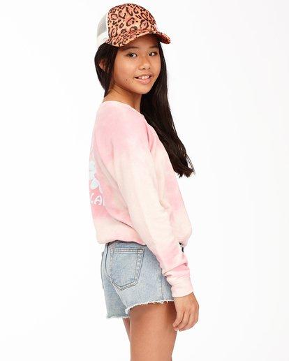 1 With My Crew Sweatshirt Pink ABGFT00104 Billabong