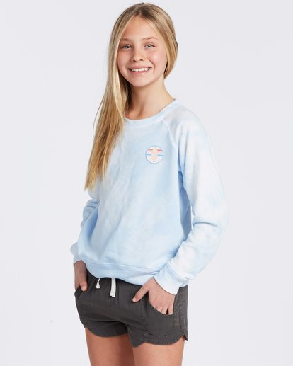 4 With My Crew Sweatshirt Green ABGFT00104 Billabong
