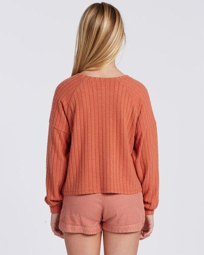 2 Cozy Forever Sweatshirt Yellow ABGFT00107 Billabong