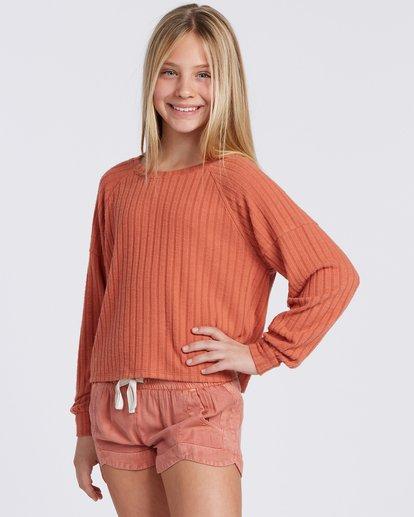 1 Cozy Forever Sweatshirt Yellow ABGFT00107 Billabong