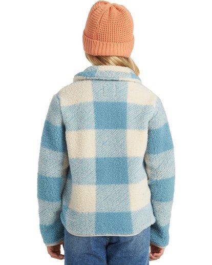 2 Warm And Cozy Fleece Jacket Blue ABGFT00116 Billabong