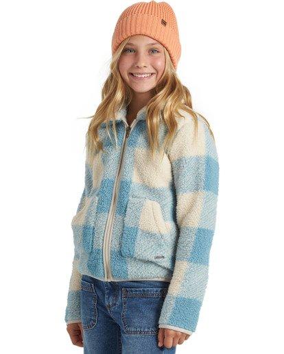 1 Warm And Cozy Fleece Jacket Blue ABGFT00116 Billabong