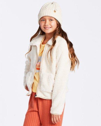 1 Warm And Cozy Fleece Jacket White ABGFT00116 Billabong