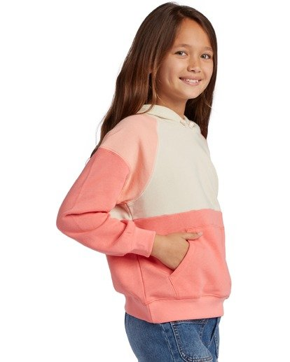 1 Girl's Coral Dreams Pullover Sweatshirt Multicolor ABGFT00120 Billabong