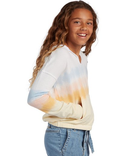 1 Girl's Cali Days Pullover Sweatshirt  ABGFT00122 Billabong