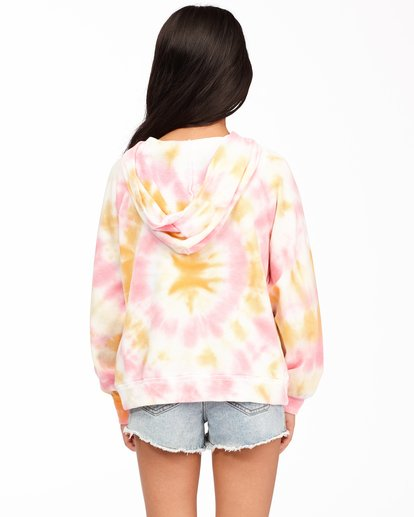 2 Girls' Dreamy Colors Hoodie Grey ABGFT00131 Billabong