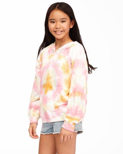 1 Girls' Dreamy Colors Hoodie Grey ABGFT00131 Billabong