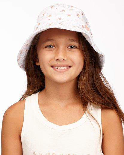 0 Girl's Bucket List Hat White ABGHA00101 Billabong