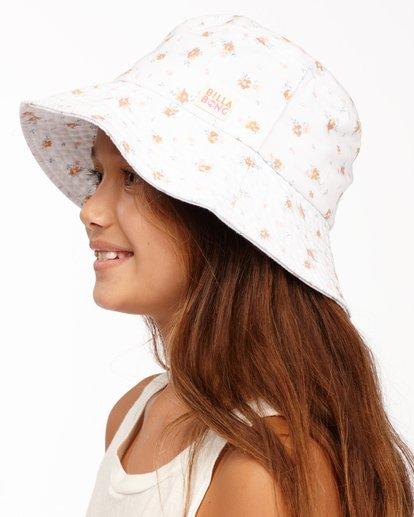 1 Girl's Bucket List Hat White ABGHA00101 Billabong