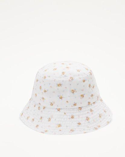 3 Girl's Bucket List Hat White ABGHA00101 Billabong