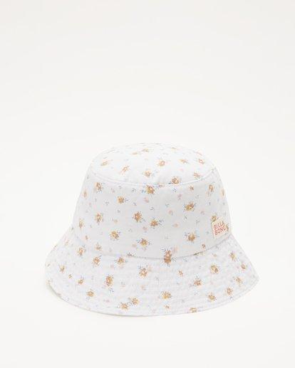2 Girl's Bucket List Hat White ABGHA00101 Billabong