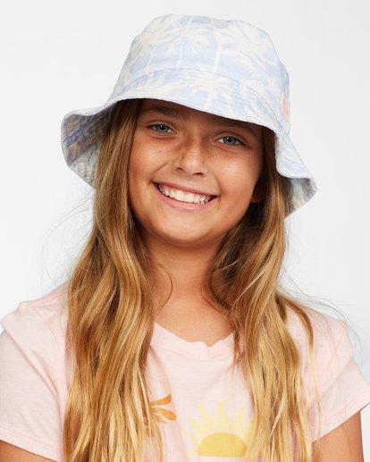 3 Girl's Bucket List Hat Brown ABGHA00101 Billabong