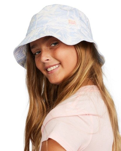 5 Girl's Bucket List Hat Brown ABGHA00101 Billabong