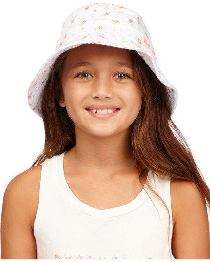4 Girl's Bucket List Hat White ABGHA00101 Billabong