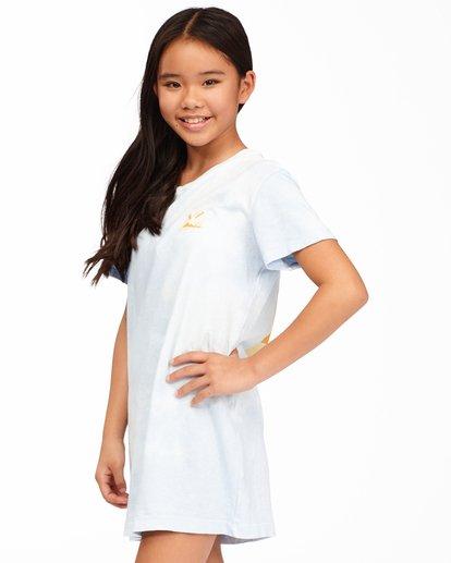 1 Girls' Keep It Beachy T-Shirt Dress Black ABGKD00101 Billabong