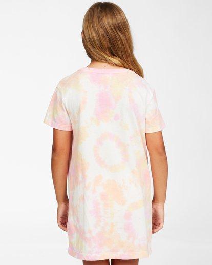 2 Girls' Keep It Beachy T-Shirt Dress Pink ABGKD00101 Billabong