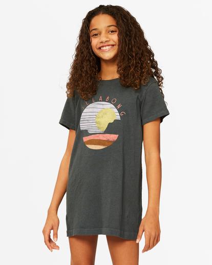 0 Girls' Keep It Beachy Dress Black ABGKD00101 Billabong