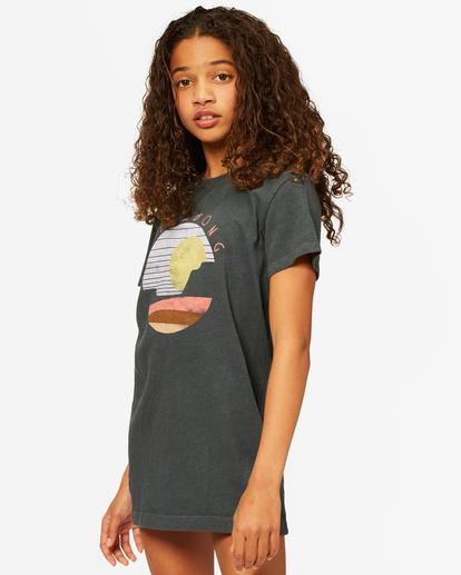 1 Girls' Keep It Beachy Dress Black ABGKD00101 Billabong