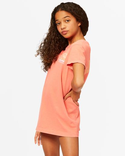 1 Girls' Keep It Beachy T-Shirt Dress Multicolor ABGKD00101 Billabong