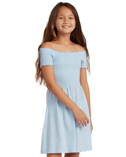 0 Off Beach Dress Blue ABGKD00105 Billabong