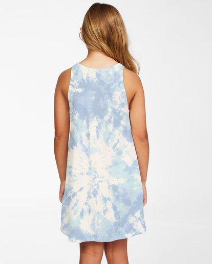 2 Girls' Easy Dayz Knit Tank Dress Brown ABGKD00112 Billabong