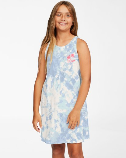 0 Girls' Easy Dayz Knit Tank Dress Brown ABGKD00112 Billabong