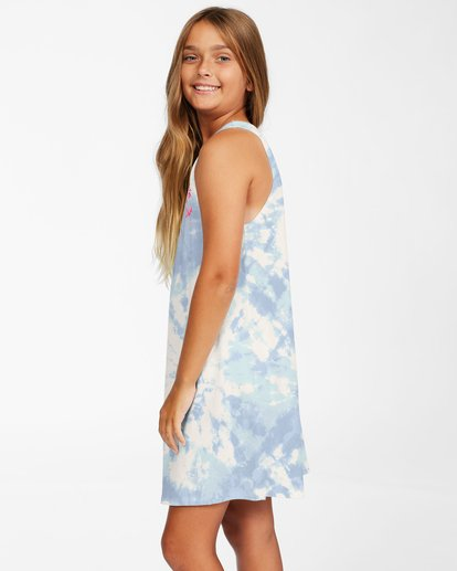 1 Girls' Easy Dayz Knit Tank Dress Brown ABGKD00112 Billabong