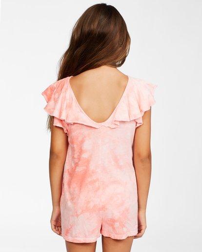 2 Girls' Wave Break Knit Dress Orange ABGKD00116 Billabong
