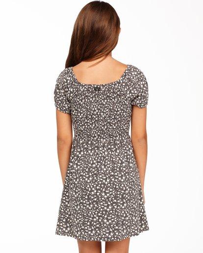 2 Girls' Beach Love Knit Dress Black ABGKD00118 Billabong