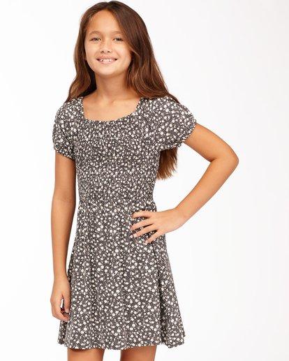 1 Girls' Beach Love Knit Dress Black ABGKD00118 Billabong